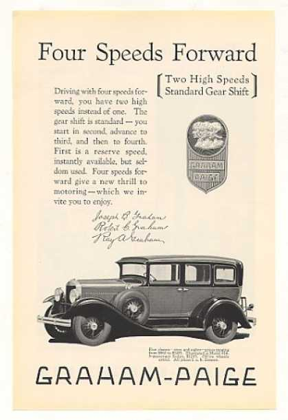 Graham-Paige Model 614 5-Passenger Sedan (1928)