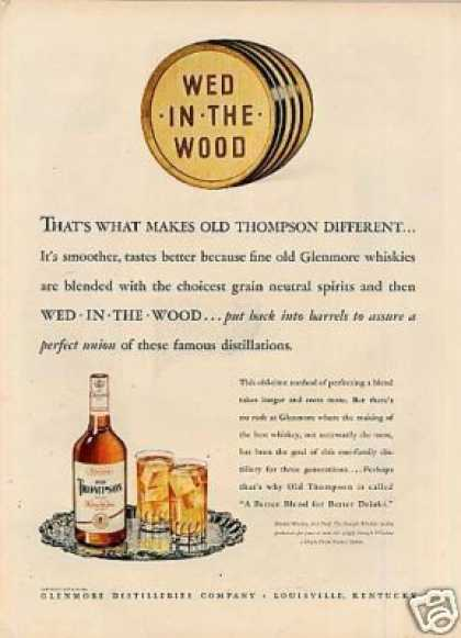 Old Thompson Whiskey (1947)