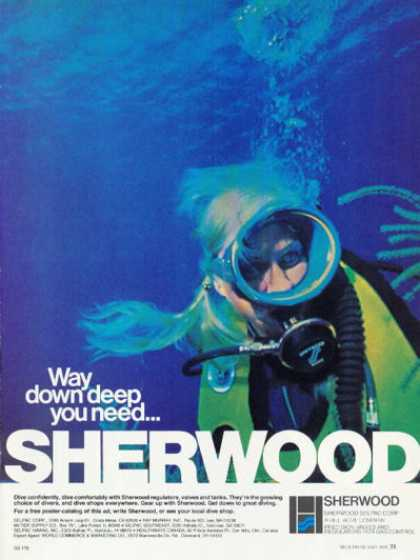 Sherwood Scuba Diving Gear Bc T (1978)