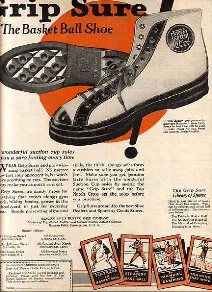 Grip Sure's Basket Ball Shoe (1924)