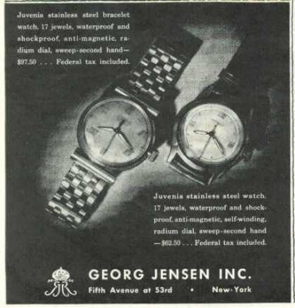 Georg Jensen Juvenia Watch (1945)