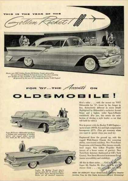 Oldsmobile Golden Rocket 88 Car (1957)