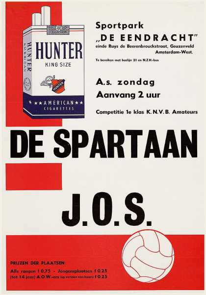 Hunter – Holanda (1950)