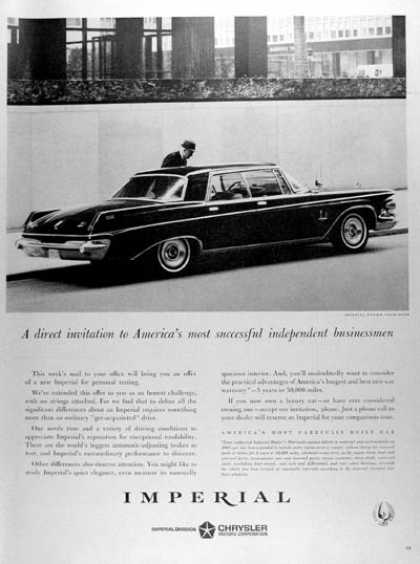 Chrysler Imperial Sedan #1 (1963)