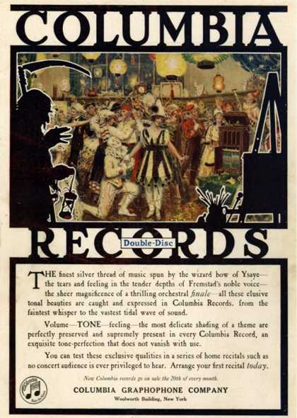 Columbia Records, USA (1920)
