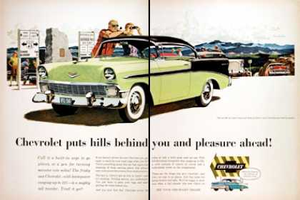 Chevrolet Bel Air Coupe (1956)