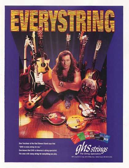 Don Teschner GHS Guitar Strings Photo (1996)