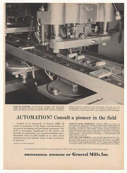 General Mills Autofab Printed Circuit Assembly (1955)