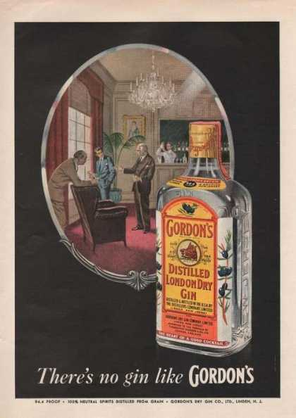 Theres No Gin Like Gordons (1955)