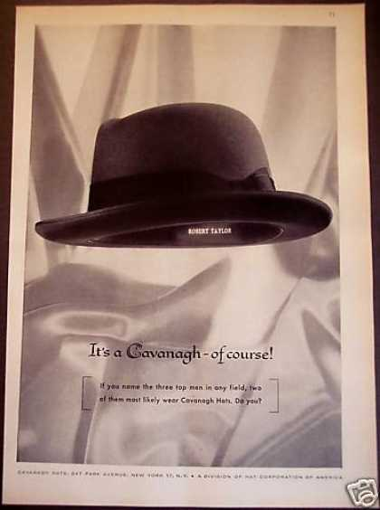 Original Cavanagh Hats for Men (1956)