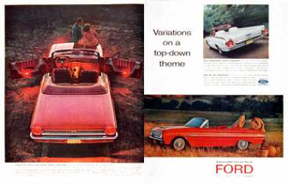 Ford Convertibles (1963)