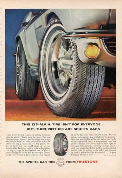 Firestone Super Sport 500 Tire Mustang (1966)