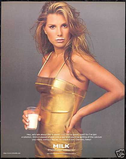 Daisy Fuentes Photo Milk Board (1997)