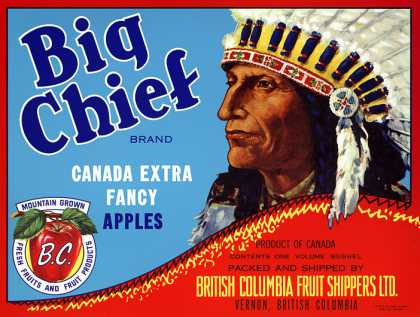 Big Chief Apples, c. s (1940)