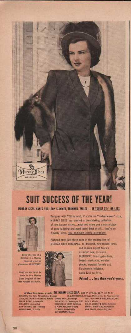 Murray Sices Womens Suit (1949)