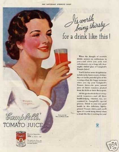 Campbell's Tomato Juice (1934)