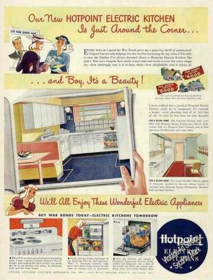 Hotpoint Electric Kitchens Collectible (1942)