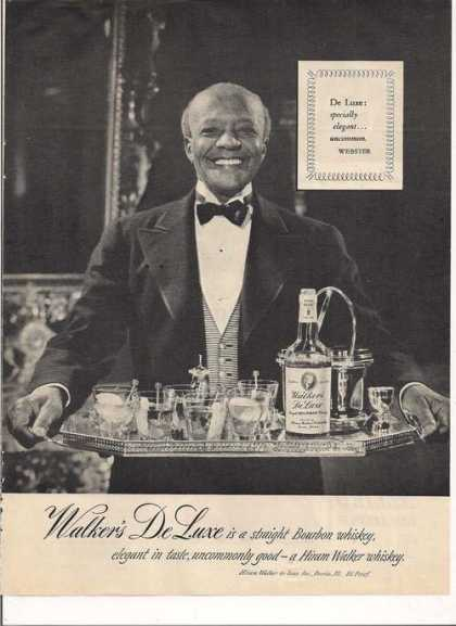 Walkers De Luxe Bourbon (1950)