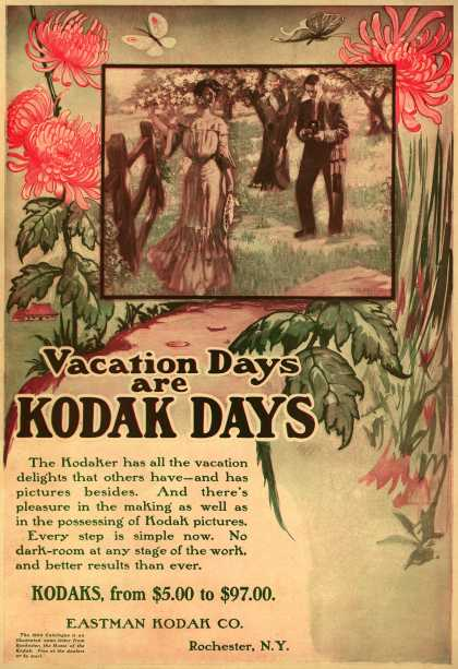 Kodak &#8211; Vacation Days are Kodak Days (1904)