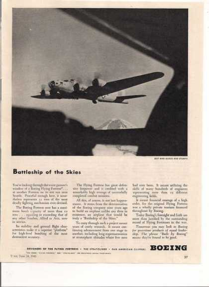 Battleship of the Skies Boeing Airplane Pr (1943)