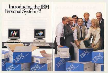 MASH Cast IBM Personal System/2 Computer 24-Pg (1987)