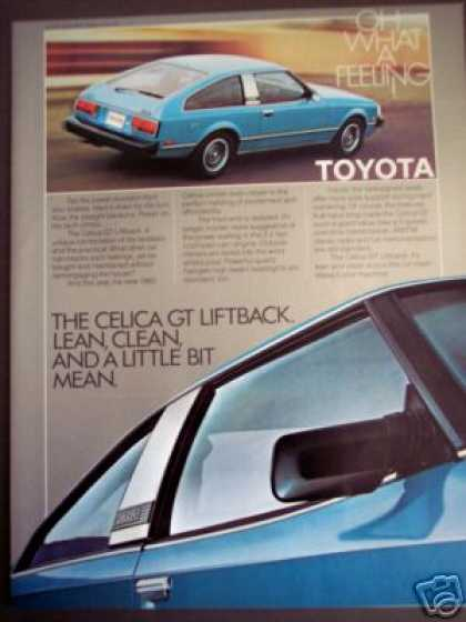 Toyota Celica Gt Liftback Car Photo (1980)