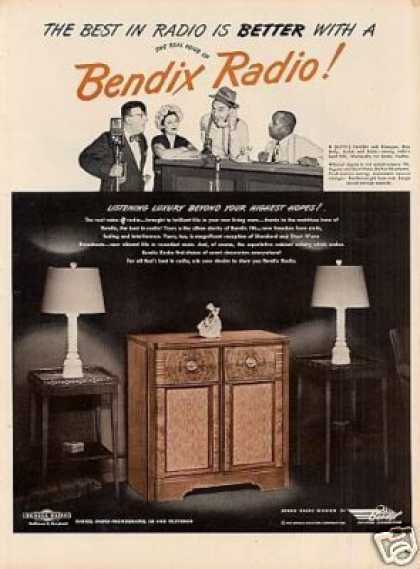 Bendix Radio Ad Duffy's Tavern (1947)