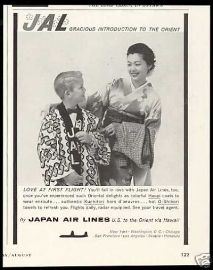 JAL Japan Airlines Gracious Introduction (1958)