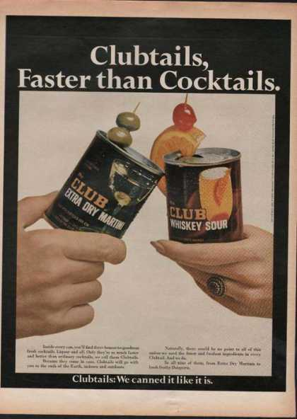 Clubtails Faster Than Cocktails (1969)
