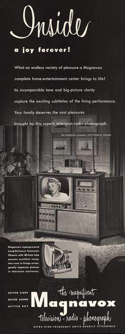 Magnavox Company's Television – Inside a joy forever (1952)