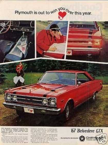 Plymouth Belvedere Gtx Car (1967)