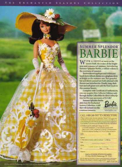 Barbie Doll – Summer Splendor (1996)