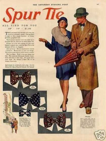 Spur Tie Color (1929)