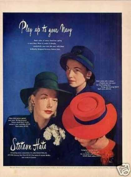 Stetson Ladies Hats (1946)
