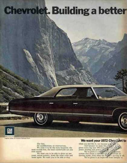 Chevrolet Caprice In Yosemite National Park (1972)