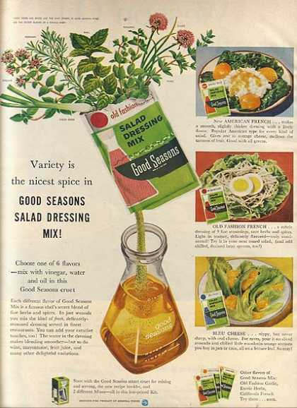 Good Season's Salad Dressing Mix (1957)
