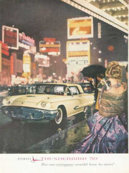 Ford Thunderbird On Broadway (1959)