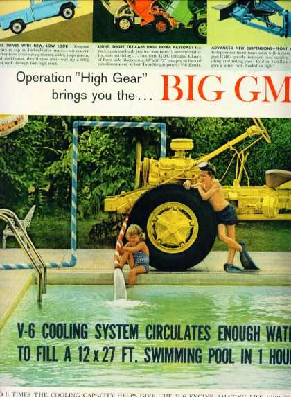 Gmc Trucks V-6 Cooling System 2 Pg Unattached C (1965)