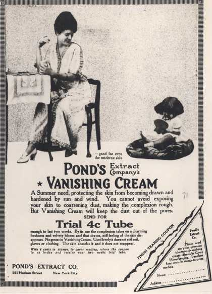 Pond's Extract Co.'s Pond's Vanishing Cream – Pond's Extract Company's Vanishing Cream (1914)
