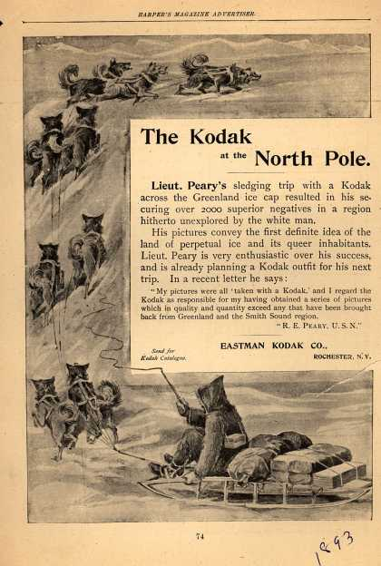 Kodak – The Kodak at the North Pole (1893)