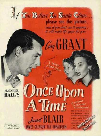 "Cary Grant ""Once Upon a Time"" Movie Promo (1944)"