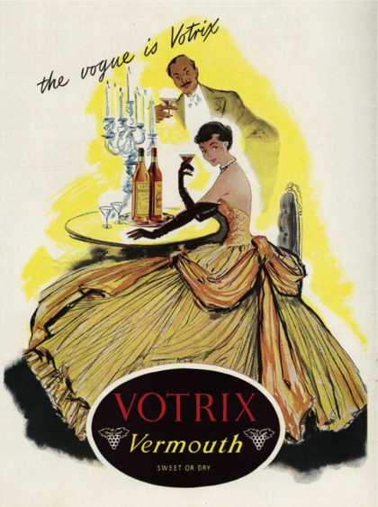 Votrix Vermouth, UK (1951)