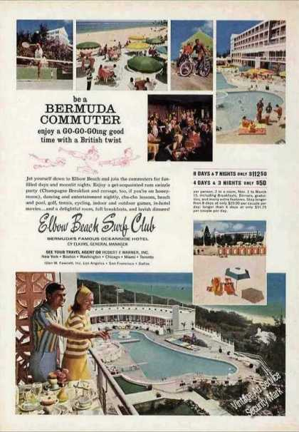 Elbow Beach Surf Club Photos Bermuda Travel (1966)