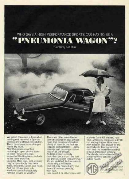 "Mgb Not a ""Pneumonia Wagon"" (1965)"