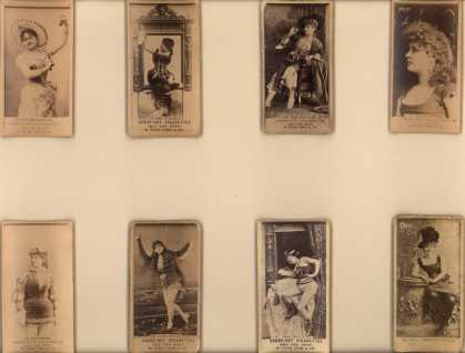W. Duke Sons & Co.'s Cross-Cut Cigarettes – Actors/Actresses – Image 6