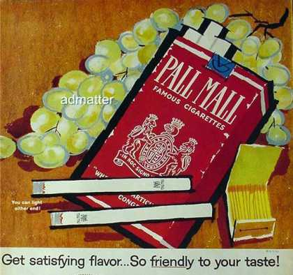 Pall Mall – Mary Blair - (1959)