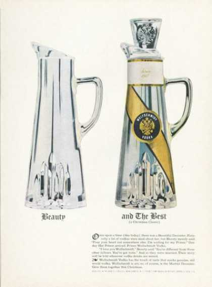 Wolfschmidt's Vodka Martini Decanter (1961)