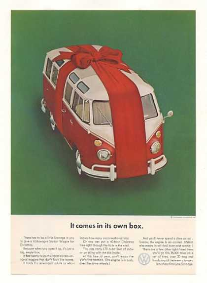 VW Station Wagon Comes in Own Box (1964)