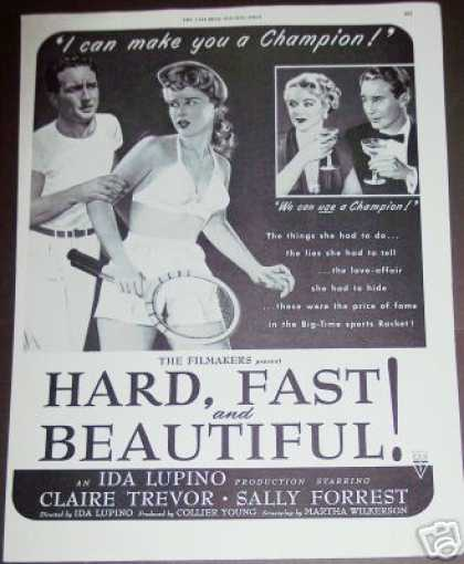 Rko Movie Hard Fast and Beautiful Promo (1951)