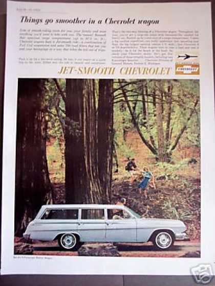 Chevrolet Bel Air Station Wagon Car Photo (1962)